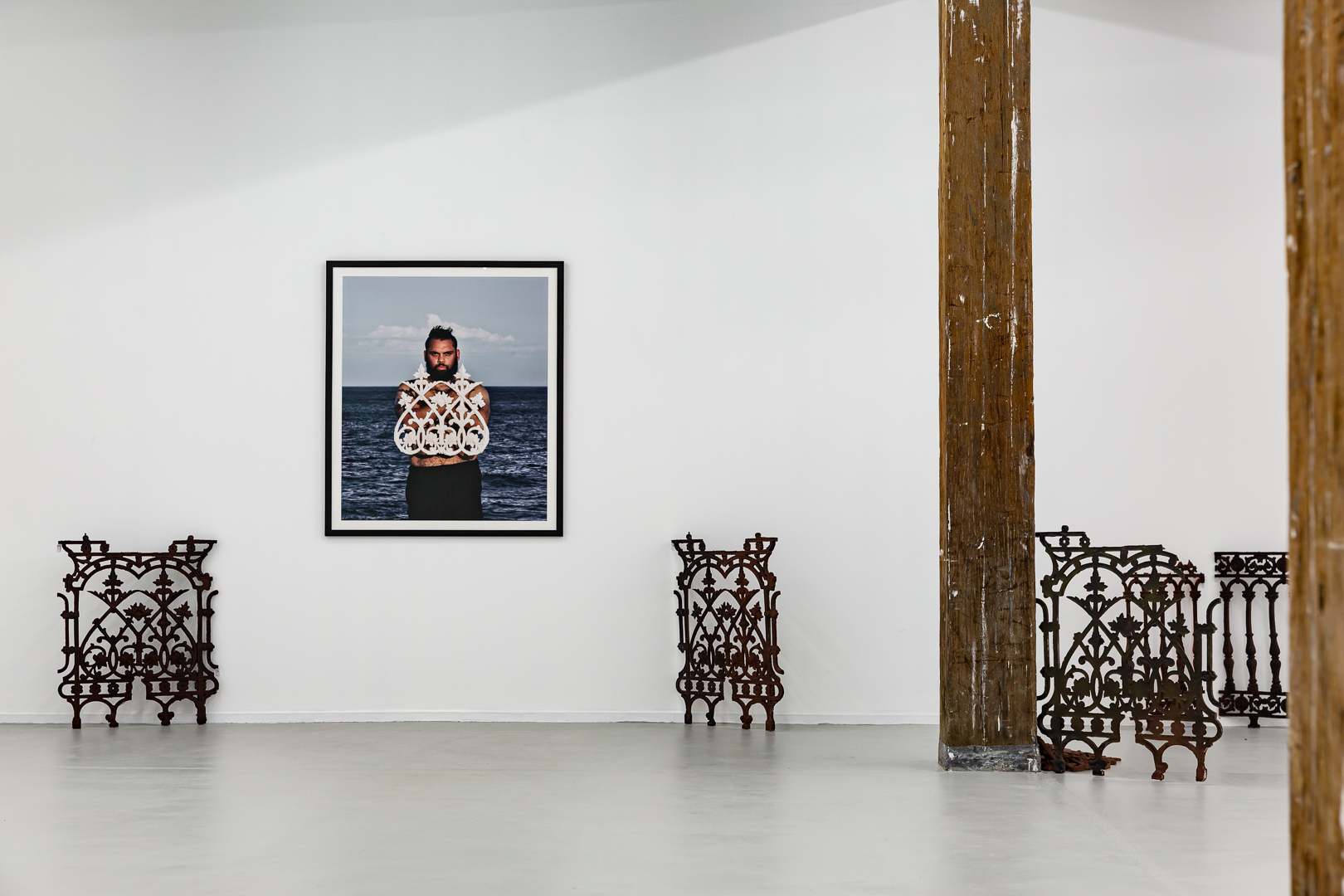 Dennis Golding, 'Cast in cast out', 2020, installation view, 2020 NSW VAEF, Artspace, Sydney. Photo: Document