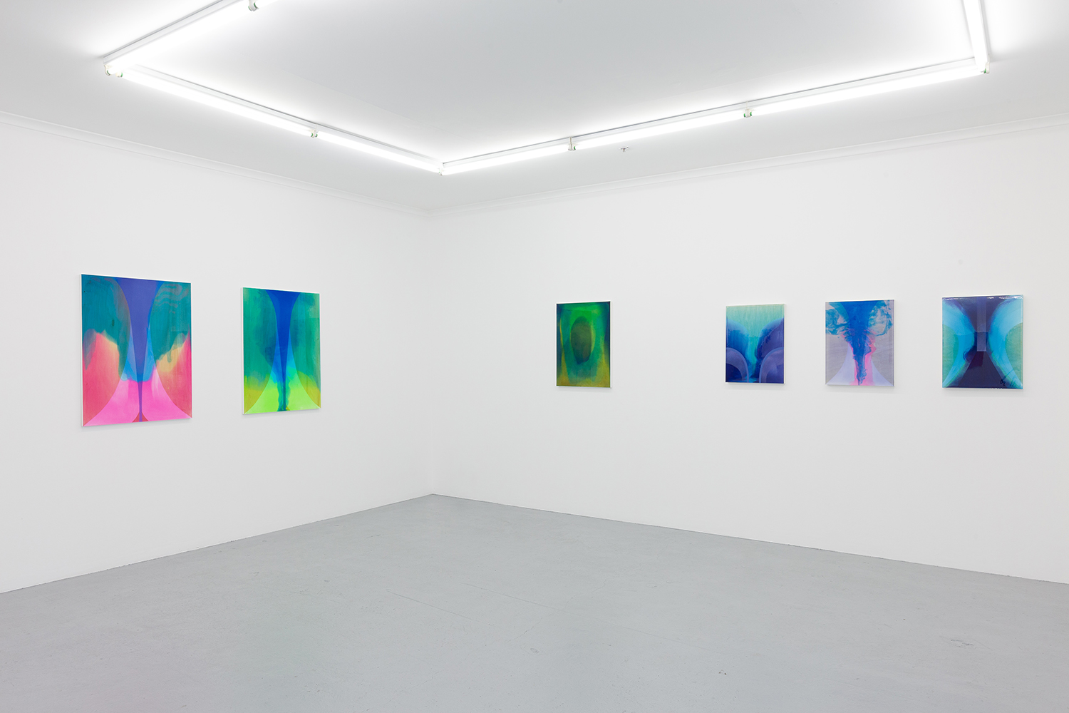 Rochelle Haley, installation view of Interval solo exhibition, Galerie pompom, 2019, courtesy the artist. Photo: Docqment