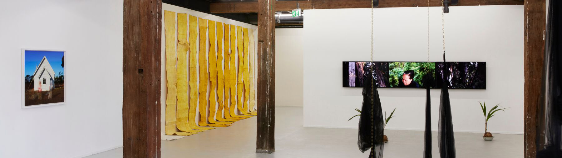 2019 NSW Visual Arts Emerging Fellowship, installation view, Artspace, Sydney. Photo: Zan Wimberley